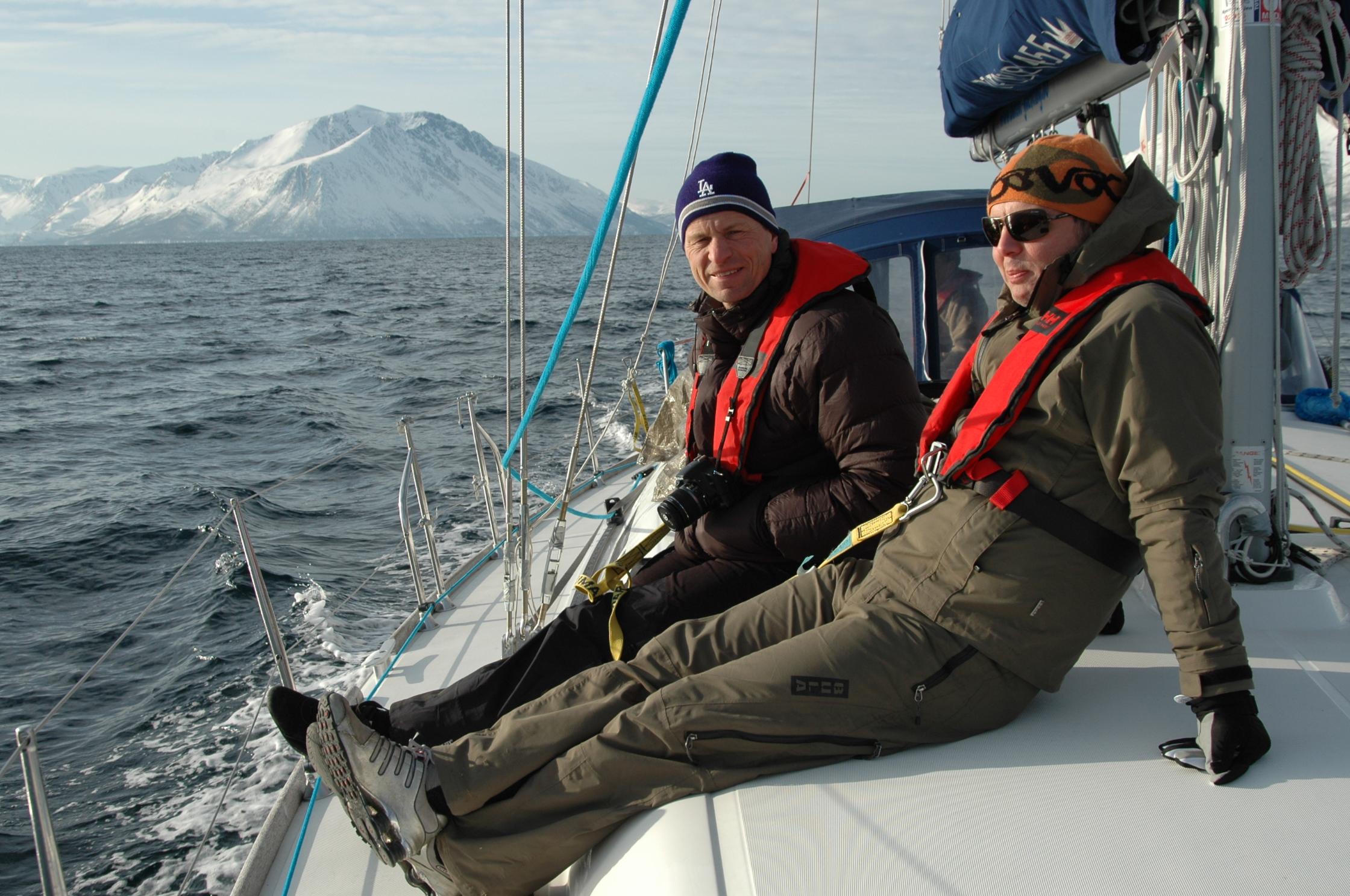 På vei til Akkarvik